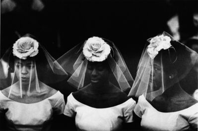 Bruce Davidson, 'Untitled [3 Bridesmaids at a wedding in Harlem], New York City, 1962, A Time of Change, 1961-1965', 1962