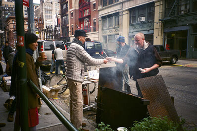 Cai Wen You, 'Hurricane Sandy Barbecue', 2012
