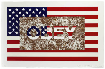 Richard Duardo, 'Obey (from the Flag Series)', 2012