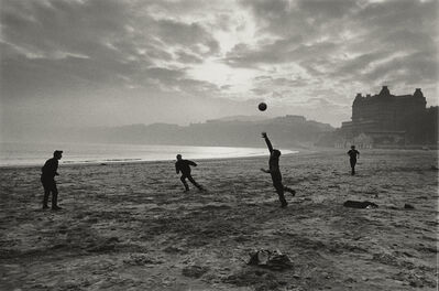 Don McCullin, 'Fishermen Playing During their Lunch Break, Scarborough, Yorkshire', 1967