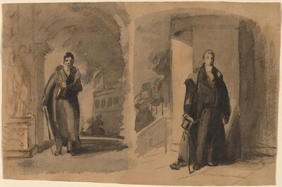 Thomas Sully, 'Lafayette (Two Views)', ca. 1825