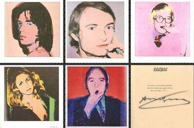Andy Warhol, 'Portraits of the 1970s (Limited Edition Monograph of 120 Bound Offset Lithographs in Slipcase) Hand Signed, Numbered  by Warhol (Whitney Museum)', 1979