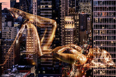 David Drebin, 'Golden Dreams', 2017