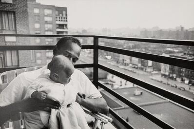 Leonard Freed, 'University Professor and His Son, Harlem, New York', 1963