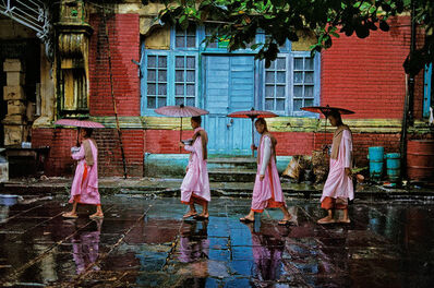 Steve McCurry, 'Procession of Nuns, Rangoon, Burma', 1994