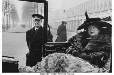 Inge Morath, 'Miss Eveleigh Nash, London'
