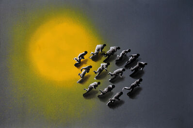 Juan Genovés, 'Eclipse', 2003