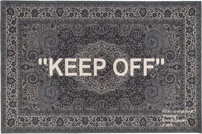 Virgil Abloh, 'Keep Off', 2019