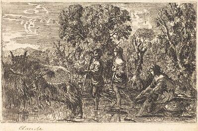 Claude Lorrain, 'The Ford (Le passage du gué)', 1634