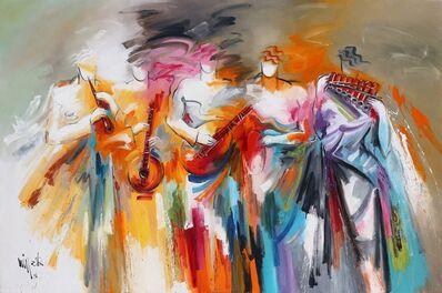 Missak Terzian, 'Instruments in Red', ca. n/a