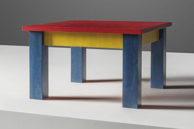 Peter Blake, 'A unique 'Simple' table', 1987
