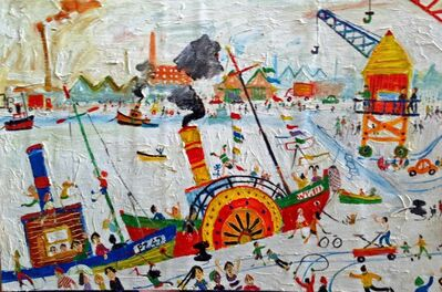 Simeon Stafford, 'Open Day At The Docks', 2006