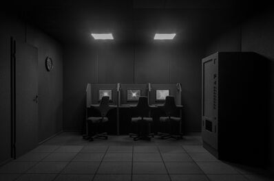Bernd Oppl, 'I looked around the internet', 2018