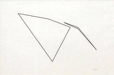 Vera Molnar, 'Trapeze ', 1974