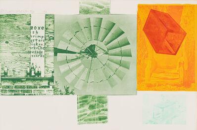 Robert Rauschenberg, 'Glacial Decoy Series: Lithograph I', 1979