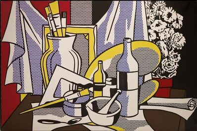 Roy Lichtenstein, 'Still Life with Palette', 1972