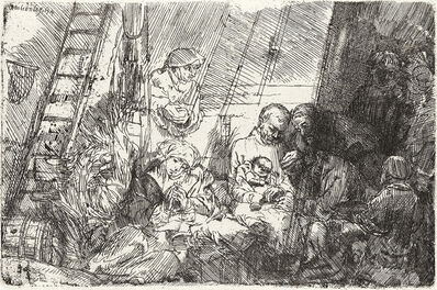 Rembrandt van Rijn, 'The Circumcision in the Stable', 1654