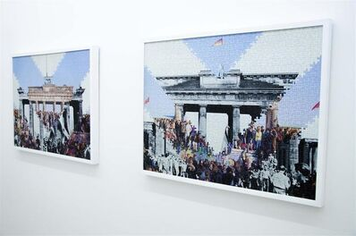 Hank Willis Thomas, 'Ein Tag am Brandenburger Tor 1961 1989', 2014