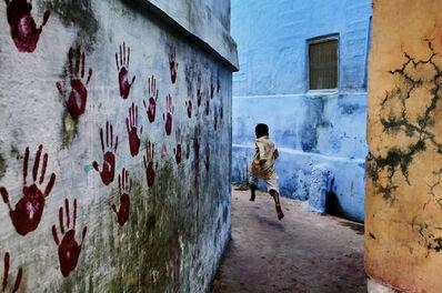 Steve McCurry, 'Boy in Mid-Flight, Jodhpur, India', 2007