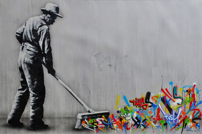 Martin Whatson, 'The Sweeper', 2019
