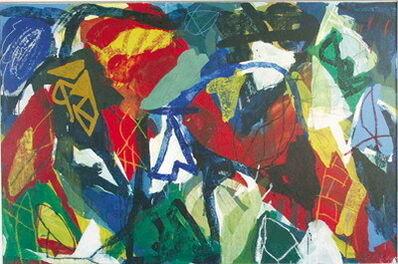 Jan Voss, 'Vorzeichen ', 1988
