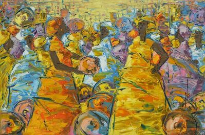 Ablade Glover, 'Pot sellers', 2012