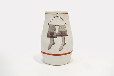 George Schneeman, 'Untitled Stocking Vase', 1980