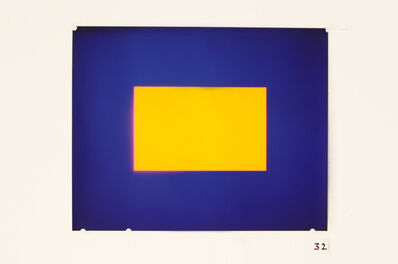 Garry Fabian Miller, 'Cobalt - Yellow, 2007', 2007