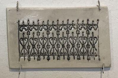 Jennifer Johnson, 'Powelton Village Iron Fence Tile 1'