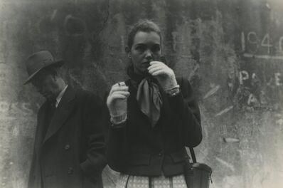 Saul Leiter, 'Mary', ca. 1947