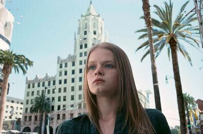 Lise Sarfati, 'Vinny-Ann, Hollywood & Vine, From the series On Hollywood', 2010