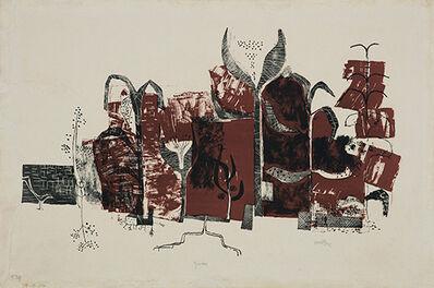 V. S. Gaitonde, 'Garden', 1958