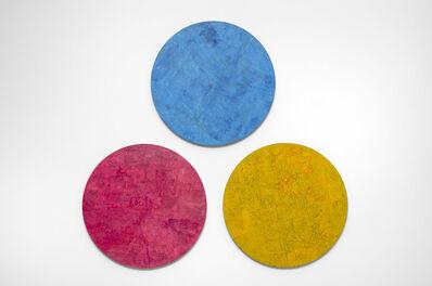 Farzad Kohan, 'Untitled (Three Large Circles)', 2018