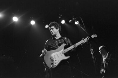 Bobby Grossman, 'Lou Reed at The Bottom Line. New York', 1983