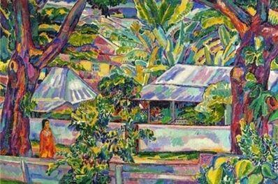 Jerome Blum, 'Scene In Papeete Tahiti', 1921