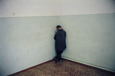 Thomas Dworzak, 'Northcaucasus. Ingushetia. Malgobek. January 2001.  Chechen refugees in a psychiatric hospital.', 2001