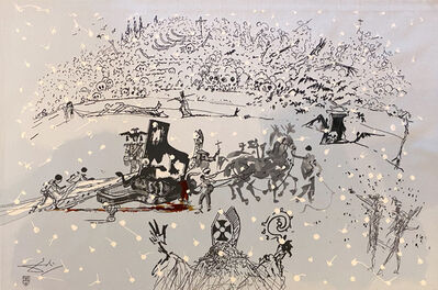Salvador Dalí, 'Piano Under Snow', 1972