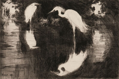 Frank Weston Benson, 'Dark Pool', 1920