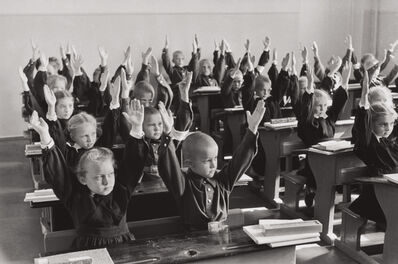 Henri Cartier-Bresson, 'School children, Moscow, USSR', 1954