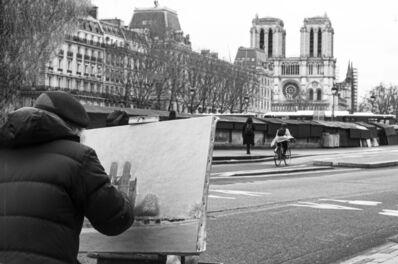 Patricia Zumhagen, 'Street Art at Notre Dame', 2020
