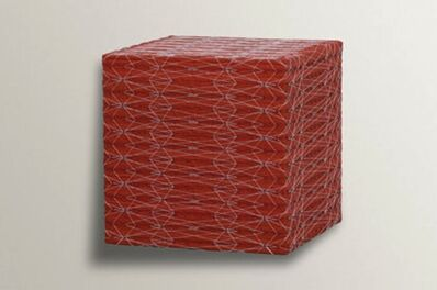 Denise Yaghmourian, 'Red Cube, Diamond Pattern', 2006