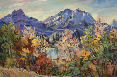 Brent Laycock, 'Upper Bow Valley, Autumn', 2018