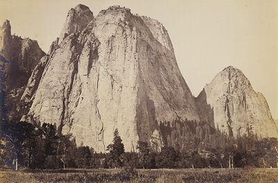 Carleton E. Watkins, 'Cathedral Rock, 2600', Yosemite', ca. 1867