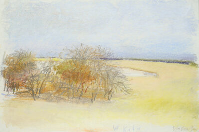 Wolf Kahn, 'Memories of Etosha Pan', 2008