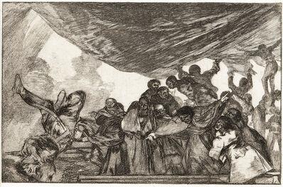 Francisco de Goya, 'Disparate Claro, from Los Proverbios'