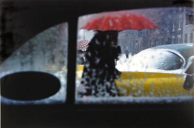 Saul Leiter, 'Red Umbrella', ca. 1955