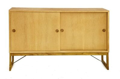 Börge Mogensen, 'A light oak cabinet'