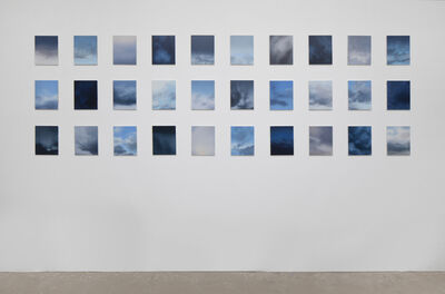 Rebecca Partridge, '30 Day Sky Studies', 2018