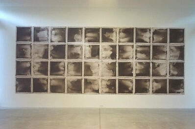 Mario Reis, 'Lehman Creek, Great Basin, Nevada, USA - 40 canvases', 2000