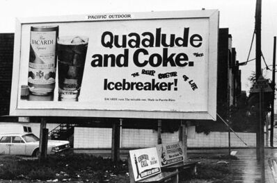 Anthony Friedkin, 'Quaalude & Coke, Dogtown, Venice, California', 1976